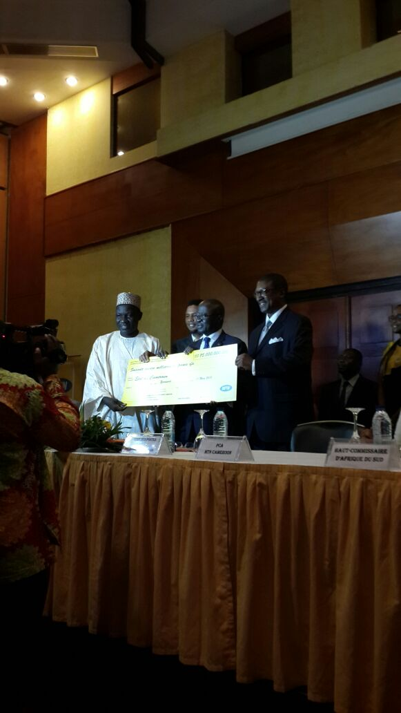 MTN Mobile License Signing Ceremony in Yaounde